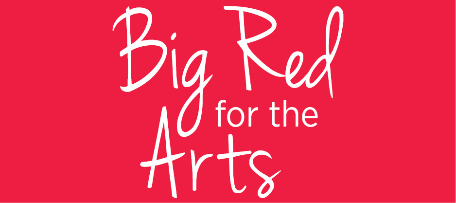 Big Red for the Arts Logo