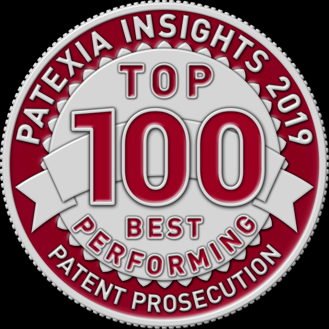 Patexia Patent Law Firm Badges 2019 logos