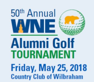 WNEU 50th Alumni Golf Tournament logo