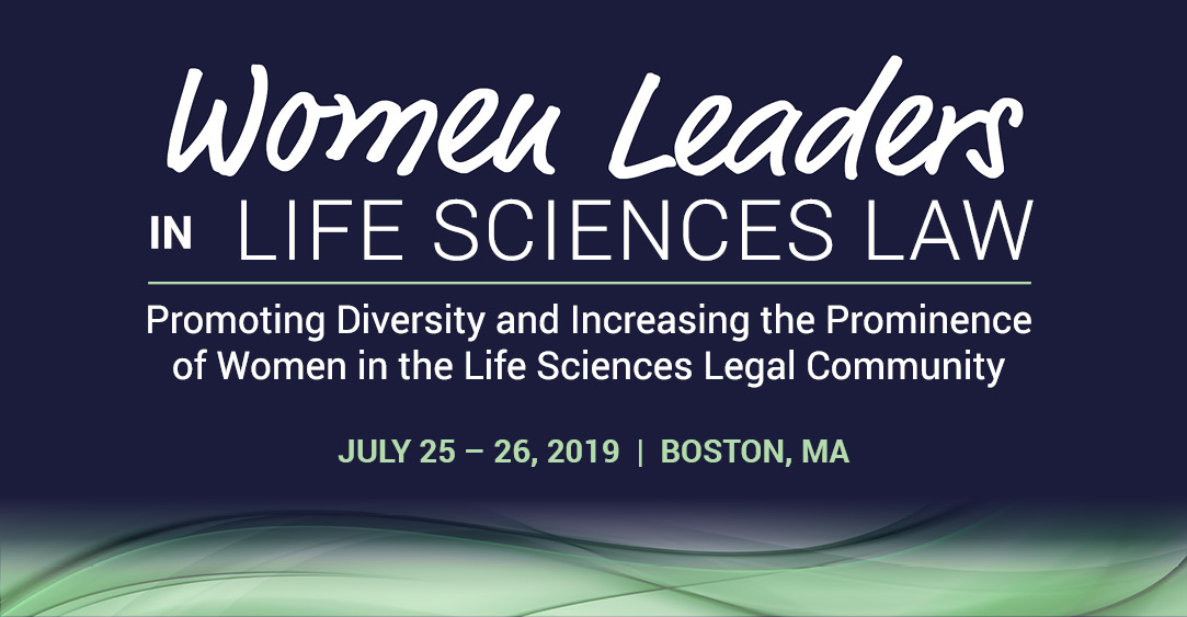 Women Leaders in Life Sciences Law conference logo