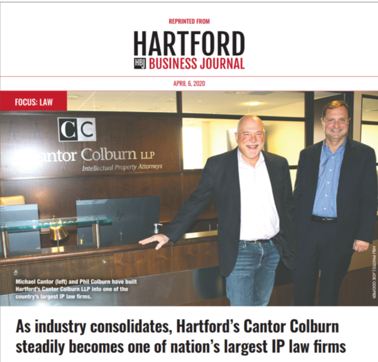 Michael Cantor and Phil Colburn in HBJ article 4/7/2020