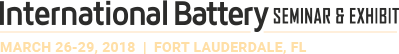 International Battery Seminar & Exhibit 2018 logo