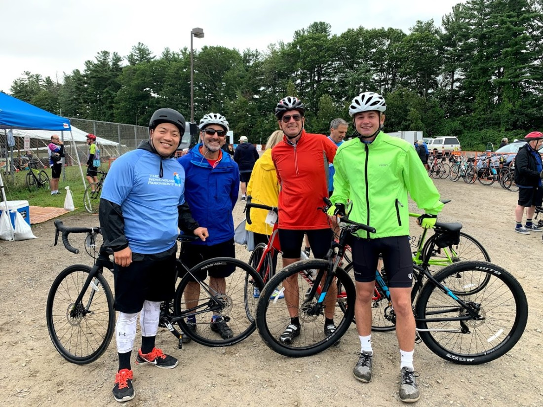 Team Cantor Colburn at the 2019 New England Parkinson's Ride photo