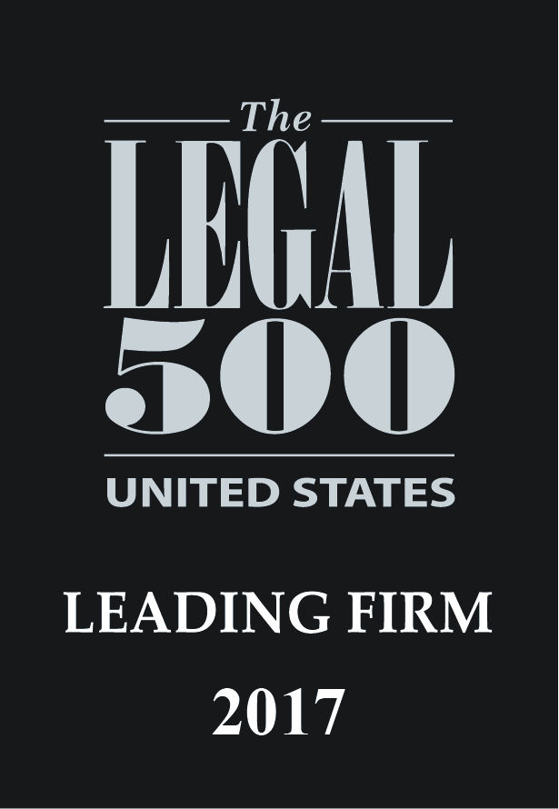 Legal 500 US Leading Firm logo